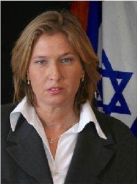 Foreign Minister Tzipi Livni