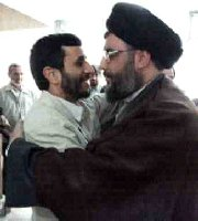 Nasrallah with Ahmadinejad
