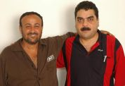 Marwan Barghouti (left) and Samir Kuntar
