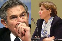 Wolfowitz and Shaha Riza