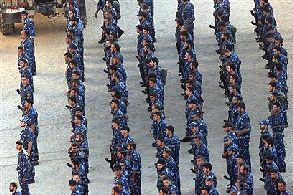 Hamas troops