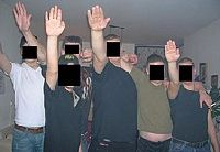 Members of neo-Nazi group in Israel
