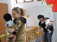 IDF evacuates babies from Sderot day care center