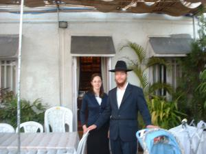 Rabbi Gavriel and Rivka Holtzberg