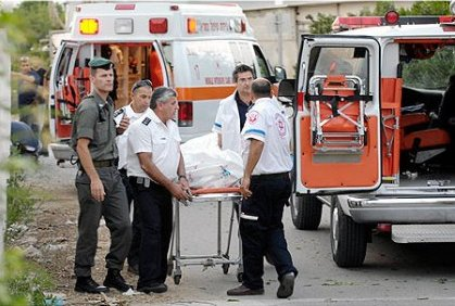 Body of yet another murder victim removed, this time from Moshav Yesha
