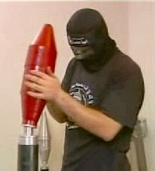 PRC terrorist assembling rocket