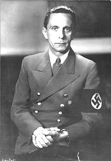 Max Blumenthal -- Oops, no, its Josef Goebbels. I always mix them up!
