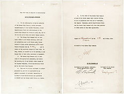 A peace agreement that worked: Reims, May 7, 1945