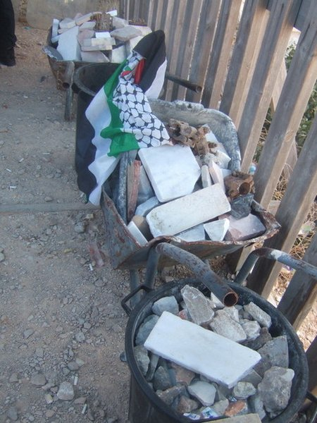Rocks found by Israeli police at Temple Mount thought to be pre-positioned for use by rioters