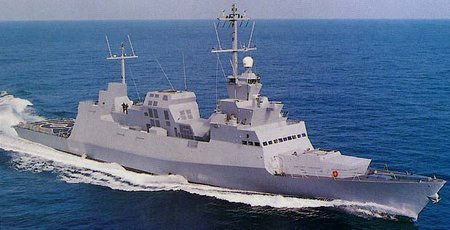Sa'ar-5 class corvette: 1227-ton, 33 knot Israeli 'pirate ship'