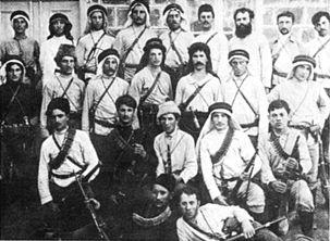 Hashomer members, 1909