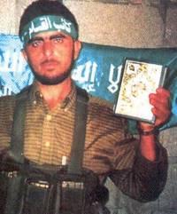 Suicide terrorist Izz al-Din Shuheil al-Masri