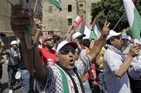 Palestinians protest denial of rights in Lebanon