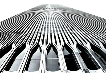 World Trade Center facade