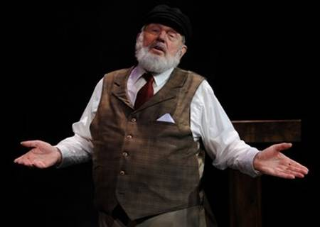 Tevye complaining about settlements.