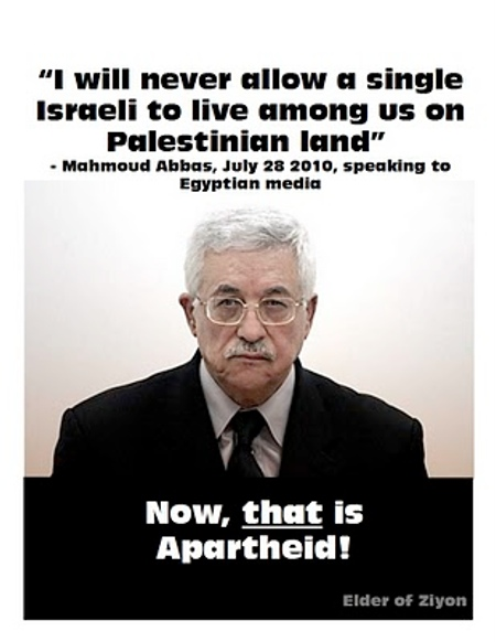 Elder of Zion apartheid poster