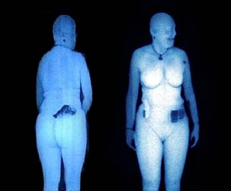Full-body scanner image. There are better ways to spot a terrorist.