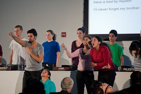 'Cultural performance' by al-Ashtar theater group at UN on International Day of Solidarity with the Palestinian People