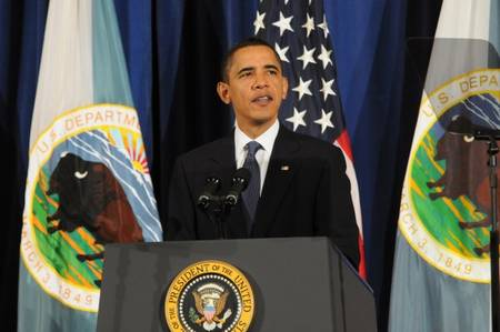 President Obama announces US endorsement of UN indigenous peoples declaration, Dec. 16, 2010.