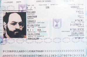 Jonathan Pollard's passport. He was given Israeli citizenship in 1995. It's expired now, but it should be renewed -- and used.