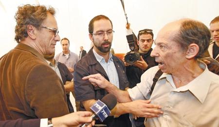 Mohammad Bakri (left)