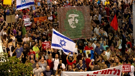 Protest movement in Israel includes disparate elements