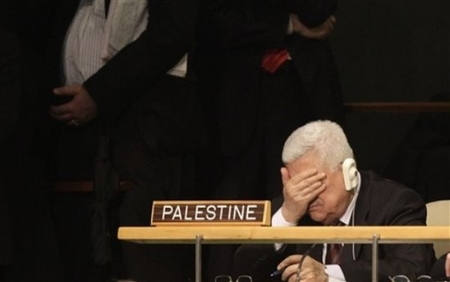 Mahmoud Abbas reacts to President Obama's UN speech. What could he have been expecting?