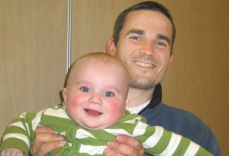 Asher Palmer and son Yonatan -- murdered by Arab terrorists