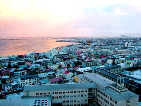 Reykjavik, Iceland's capital. A lovely setting for a very bad idea