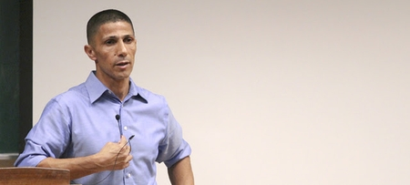 Ismail Khaldi speaks at Kent State