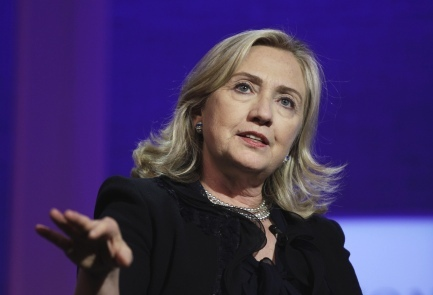 Hillary Clinton complaining that Israel is becoming undemocratic