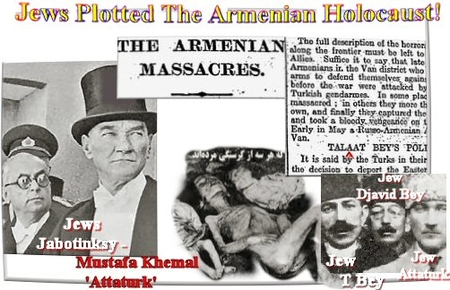 Illustration from antisemitic site blaming Jews for the Armenian Genocide