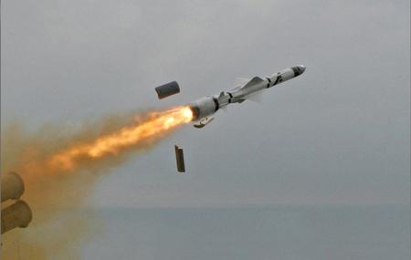 Russian 'Yakhont' supersonic anti-ship cruise missile