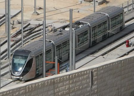 Jerusalem light rail system