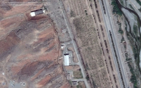 Parchin test facility near Tehran. Courtesy of Challah Hu Akbar. Click the picture for details and more photos.
