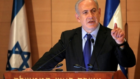 PM Binyamin Netanyahu speaks in the Knesset this week