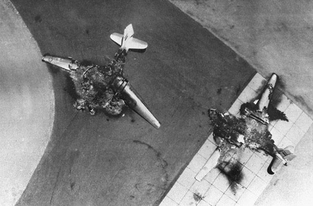 Egyptian aircraft destroyed on the ground in 1967. Is Israel changing its traditional military doctrine?