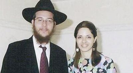 "Gavriel and Rivka Holzberg. Murdered because Jews rule ""Muslim land"""