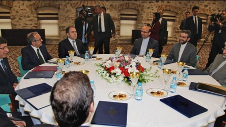 "Negotiations between Iran and ""P5+1"" in Istanbul"