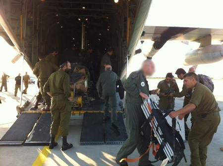 IAF C-130 brings medical teams to Burgas, Bulgaria after terror attack