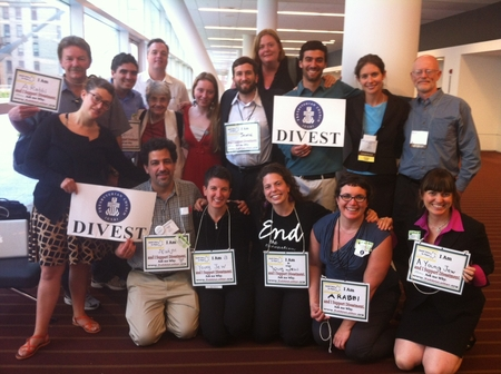 "JVP ""Jew-washing"" operatives at Presbyterian General Assembly"