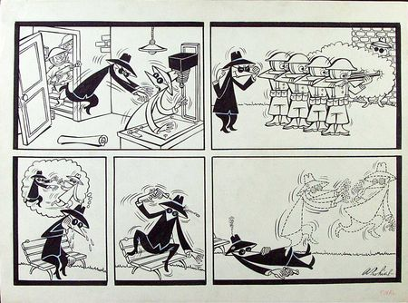 1962 Spy vs. Spy cartoon by Antonio Prohias