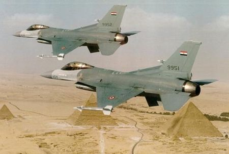 Egyptian F-16's