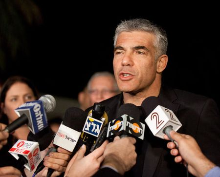 Yair Lapid, who came in a surprising second in Israel's election