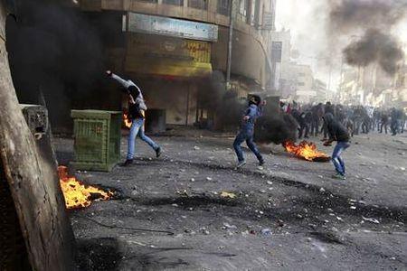 Arab riots in Judea/Samaria