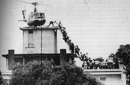 US embassy, Saigon 1975