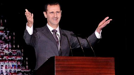 Bashar al-Assad. The tail of the snake.