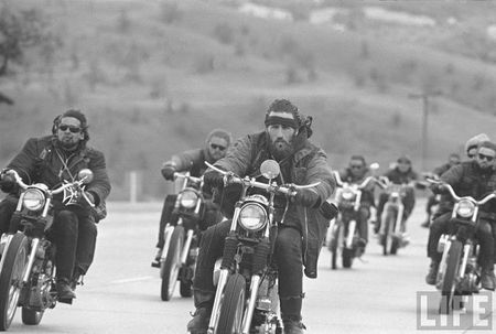 Hell's Angels. Like Bashar al-Assad, their power of deterrence comes from their reputation for ruthlessness.