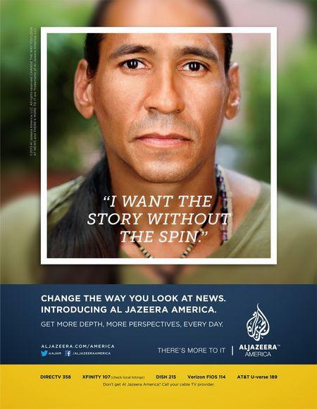Al Jazeera America ad