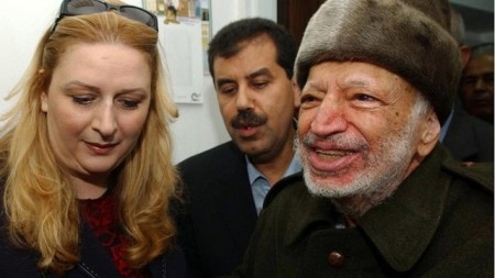 The Arafats, Suha and Yasser.